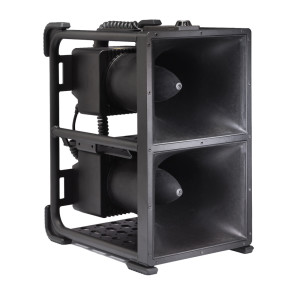 THD-152 SELF CONTAINED ULTRA-HIGH POWER TRANSPORTABLE HAILING SYSTEM