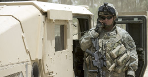 communicating-soldier- stentor application Acoustic Hailing Device -Acoustic Hailing -Speaker