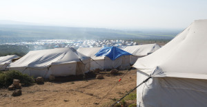 Syrian-refugee-camp-stentor application Acoustic Hailing Device -Acoustic Hailing -Speaker